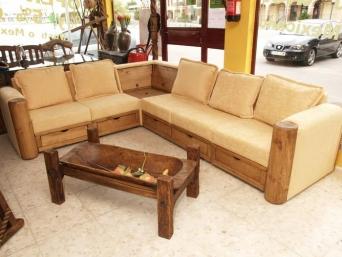 Sof rinconera bar el mueble artesano rural - Artesanos del sofa ...