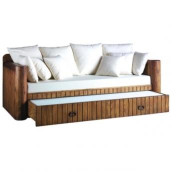 Sof cama con arrastre for Sofa cama rustico