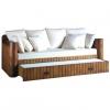 Sofá cama con arrastre