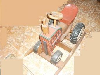 Tractor de teka