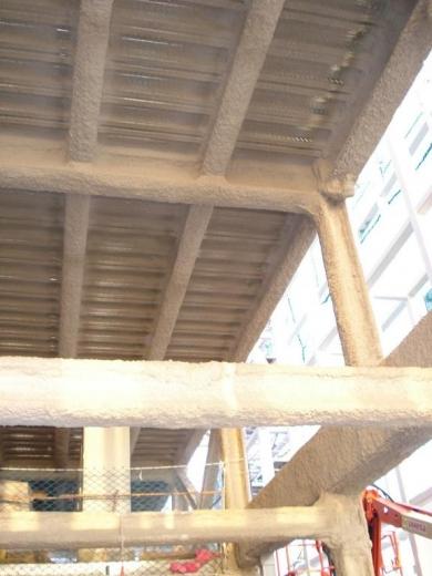 Proyección de estructura con Newspray