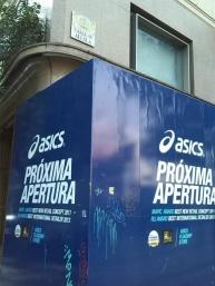 Nueva tienda de ASICS en la calle Alcalá 44 de Madrid