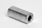 Casquillo de perfil de aluminio