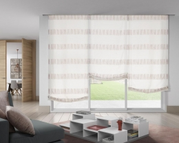 3 fabric blinds REf. Jacquard 2161 c/ 07