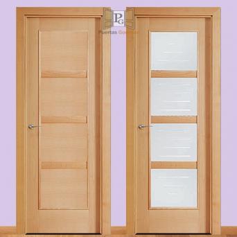 Modelo 4104 7400 puertas gonman venta e instalaci n for Precio puerta roble