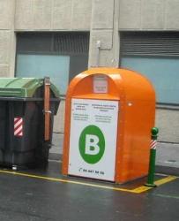 Todos los barrios de Bilbao tendrán contenedores de aceite