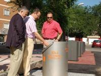 Soterrado de contenedores en 5 puntos estratégicos de Colmenar Viejo