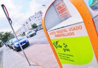 El reciclaje de aceite en la localidad alcanza los 3.824 litros en el tercer trimestre del año