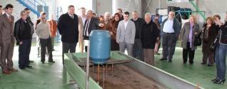 Inaugurada en La Unión la nueva planta de tratamientos de aceites para biodiésel