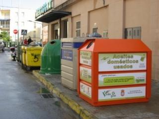 La recogida de aceite vegetal en Chiclana volvió a superar los 15.000 litros en 2010
