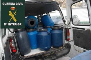 Desmantelan una trama dedicada a la recogida de residuos de aceite