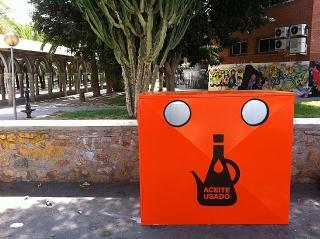 La concejalía de Medio Ambiente amplía hasta 54 el número de contenedores para el reciclaje de aceite
