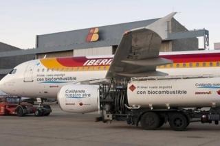 El primer 'vuelo verde' español aterriza en Barcelona