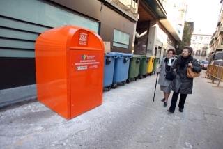 La Mancomunidad instala 50 contenedores de recogida de aceite