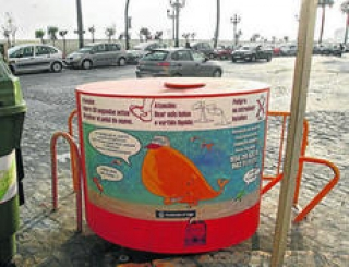 La ciudad de Cádiz gestionó 21.000 litros de aceite vegetal usado
