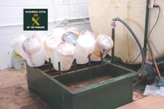 Desenmascaran una trama que estafaba a empresas de gestión de aceites vegetales usados y a hosteleros