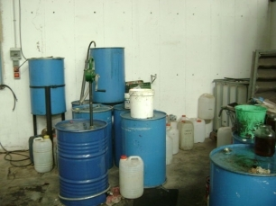 Desarticuladas dos nuevas tramas que recogian ilegalmente residuos de aceite vegetal usado en Málaga