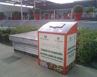 Centro comercial Parquesur (Madrid) ubicará tres contenedores para la recogida de aceite usado