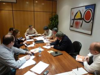Sesión de trabajo de la Junta Directiva de GEREGRAS