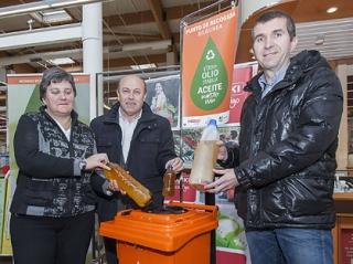 Nueva red de puntos de recogida de aceite doméstico usado