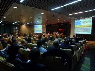 La Asociación Nacional de Gestores de Residuos de Aceites y Grasas Comestibles en una de las Jornadas de FENERCOM