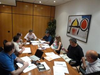 Reunión antes de verano de Junta Directiva de GEREGRAS