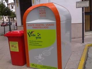 contenedores aceite vegetal usado para biodiesel