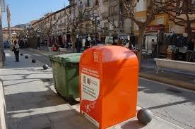 Roban un contenedor para el reciclaje de aceite usado en Toledo
