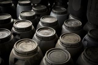 bidones que se utilizan en cocinas del canal HORECA
