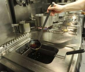 Aceite usado de cocina