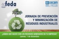 Jornada de prevención y minimización de residuos industriales