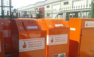 La Diputación de León financia contenedores de recogida de aceite doméstico