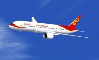 Avión Hainan Airlines utiliza aceite reciclado como combustible