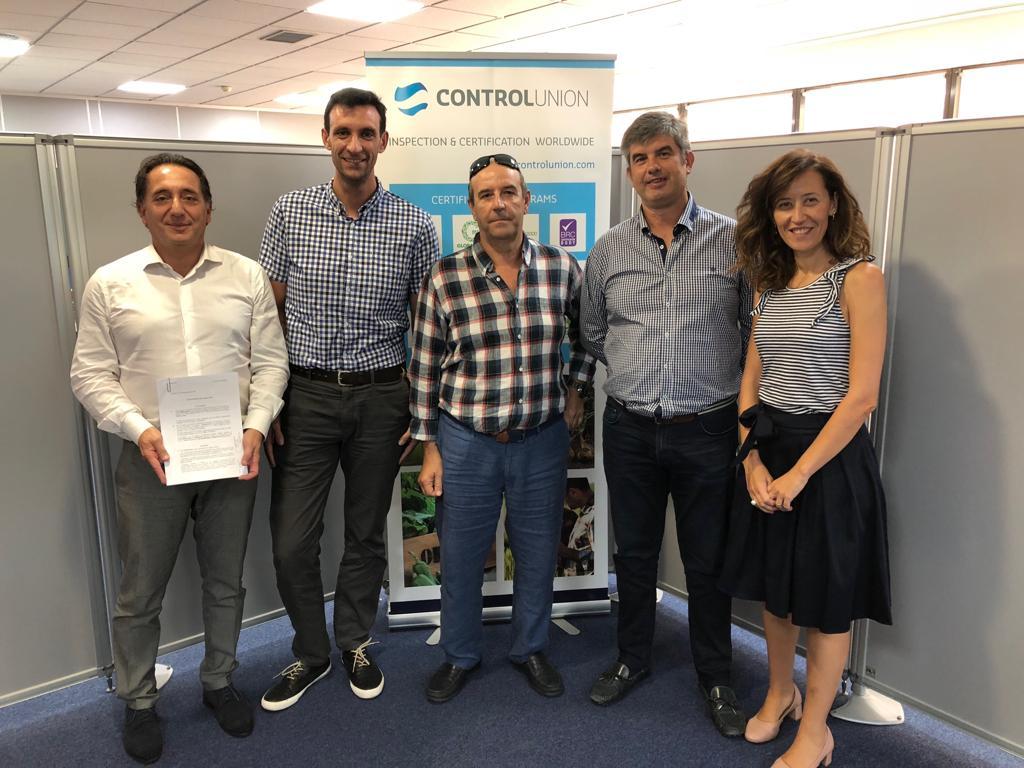 Control Union y Geregras firman acuerdo de colaboración.