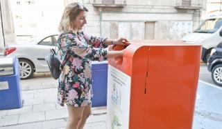 El municipio de Astillero recoge hasta el mes de julio 4.943 kilos de aceite doméstico usado.