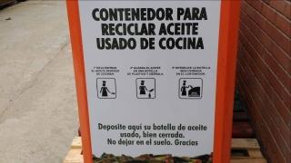 Resigras continúa gestionando el reciclaje de aceite usado de cocina en Hoyo.
