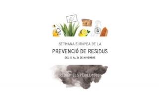 Cartel del programa por la Semana Europea de la Prevención de Residuos en Rubí.