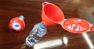 Camargo repartirá gratis embudos para fomentar el reciclaje de aceite de cocina usado.