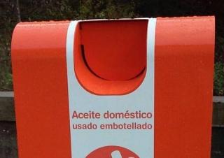 Instalan 23 contenedores de aceite en 20 pueblos del Somontano de Barbastro.