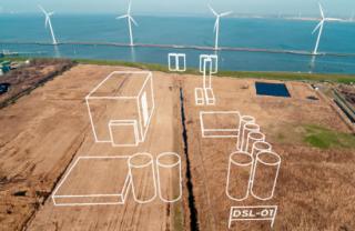 Esquema de la biorrefinería que construirán SkyNRG, KLM y SHV Energy en Países Bajos