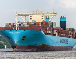 El portacontenedores Mette Maersk