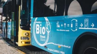 El proyecto de autobuses de Lisboa utiliza aceite de cocina 100% usado como combustible.