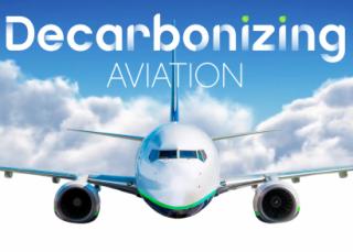 Imagen de una campaña de uno de los principales productores de biocarburantes para aviación: Neste