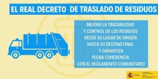 10 novedades del nuevo real decreto de traslado de residuos.
