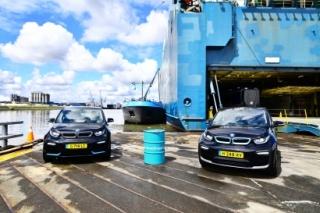 El buque Autosky que se mueve con biocarburantes de aceites usados tiene capacidad para 2080 coches
