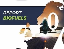 Portada del último informe estadístico sobre biocarburantes de Bioenergy Europe
