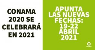 Conama 2020 se celebrará en abril de 2021.