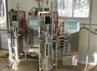 Reactores de hidrólisis y fermentación de la unidad Biocar del Ciemat