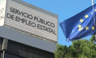 Sede central del Sepe, pagador de los Ertes, en Madrid.