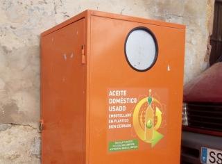 El contenedor de aceite de cocina usado llega a Madrid.